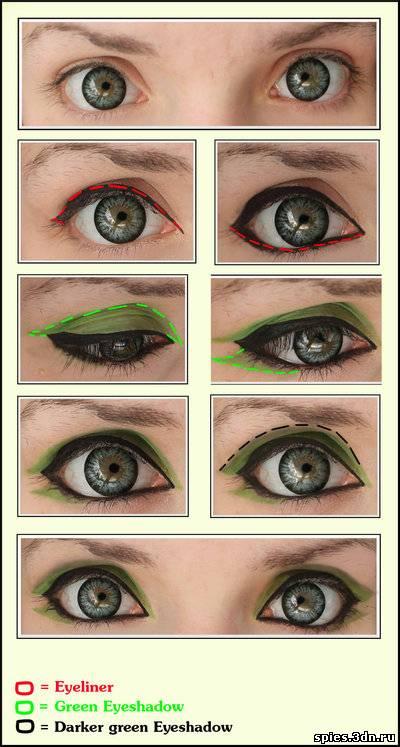 Как при помощи косметики сделать глаза больше